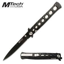Mtech USA Stiletto Tactical Folding Pocket Knife - Black