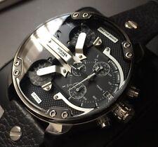 Reloj con Cronógrafo Para Hombre de Diseñador Diesel Mr Daddy 2.0 Acero Inoxidable DZ7313