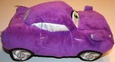 "DISNEY STORE Pixar CARS 2 Plush 13X7"" HOLLY SHIFTWELL Purple Lg Stuffed Toy EUC"