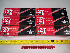 60 Strips Ramset Red Power Load Strip Fastener 10 Strips 100 Loads .27 Cal 5Rs27