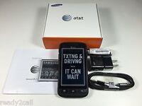 New Samsung i547 Galaxy Rugby Pro Black 8GB WiFi AT&T Unlocked GSM SGH-I547