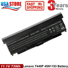 9 Cell 57++ Laptop Battery for Lenovo Thinkpad T440p T540p W540 W541 FAST
