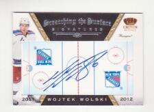 2011-12 Crown Royale Wojtek Wolski Scratching The Surface Autograph # 45 (11-12)
