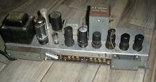 Hammond M-Series Tube Amplifier Chassis Dual-6V6 Organ Audio Amp