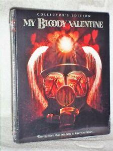 My Bloody Valentine (Blu-ray, 2019, Collectors) Paul Kelman horror SLIPCOVER NEW