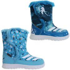 Adidas Disney Frozen girl's winter boots kind's snowboots blue white NEW