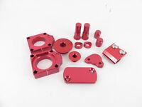 Honda CRF450 R 2009 - 2017 RED Bling kit / Trick Bits / Billet parts BRAND NEW