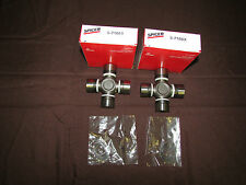 Jeep JK Rubicon Front Axle U-joint Set Spicer Solid Part # 5-7166X 2 or 4 Door