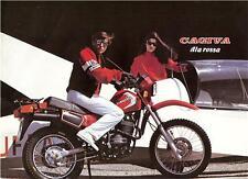 1985 Cagiva Ala Rossa original 4 page sales brochure