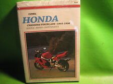HONDA VT1100C SHADOW 1985-96 CLYMER SERVICE MANUAL BOOK M440