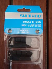 SHIMANO DURA ACE ULTEGRA 105 R55C3 BRAKE PAD INSERTS 2 PAIR **NEW**