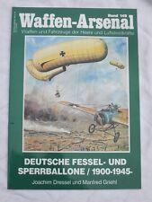Armi-Arsenale nastro: 149: Deutsche Caviglia & Blocco MONGOLFIERA 1900-1945