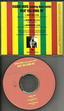 SHABBA RANKS & QUEEN LATIFAH what 'cha Goona Do EXTEND& INSTRUMENTAL PROMO DJ CD