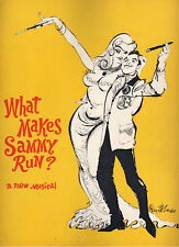 """What Makes Sammy Run?"" Souvenir Program 1964 Steve Lawrence"