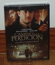 CAMINO A LA PERDICION ROAD TO PERDITION DVD NUEVO PRECINTADO (SIN ABRIR) R2