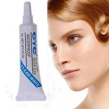 1pc Clear White Waterproof False Eyelashes Makeup Adhesive Eye Lash Glue