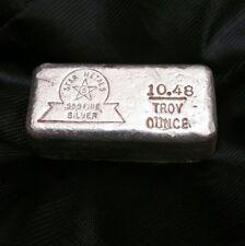Hand poured 999 Fine Silver Blacksmith Solid Silver Anvil