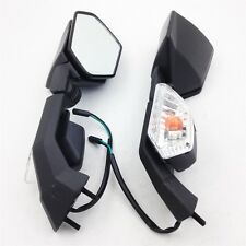 ReplacemenT With Turn Signals mirror for Kawasaki Ninja ZX6R 2004-2010 ZX10R BLK