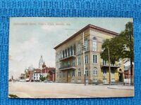 Mobile, AL, Fidelia Club, Government Street, 1910, PC Postcard
