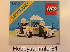 Lego® 6522 Legoland Bauanleitung Polizeieinsatz