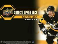 2019-20 Upper Deck Series One INSERT NHL Hockey Cards Pick From List
