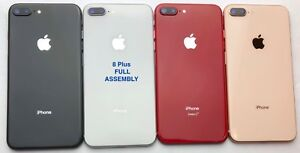 iPhone 8/ 8 Plus/ X/  XS/ XS Max/ XR/ 11 Back Rear Glass Frame Housing With/LOGO