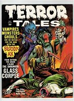 Terror Tales Vol. 2 #6 Classic Horror Magazine Eerie Publications 1971