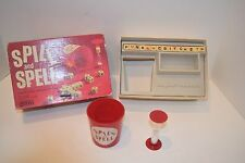 SPILL AND SPELL 15 CUBE CROSSWORD GAME PARKER BROS 1966 Complete