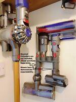 Dyson Organizzatore Strumento 4 Attrezzo V8 da Parete Supporto Detergente