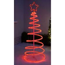 Rope Light Spiral Christmas Tree Flat Pack Indoor Outdoor Red 5ft / 1.5m  sc 1 st  eBay & Buy Christmas Outside/Garden Trees | eBay