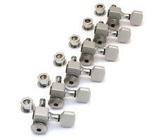 Sperzel Trim-Lok Locking 6 Inline Satin Chrome Guitar Tuners/Machine Heads