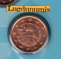 Saint Marin 2004 - 5 Centimes D'Euro - 70 000 exemplaires Provenant du BU RARE S