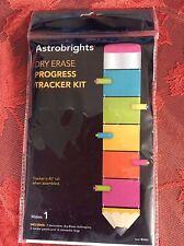 Astrobrights Dry Erase Progress Tracker Kit