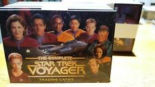 STAR TREK VOYAGER THE COMPLETE Trading Cards 183 Card Base Set Rittenhouse 2002