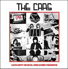 The Cars - 14th September 1978 El Mocambo Toronto (2014)  CD  NEW  SPEEDYPOST