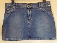 ELLE Size 14 denim mini skirt