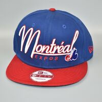 Montreal Expos New Era 9FIFTY Cooperstown Collection Adjustable Snapback Cap Hat