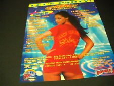 SALSOUL says LET'S PARTY with Synergy Remix SEXY 1992 PROMO POSTER AD mint cond