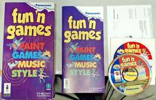 Fun 'N Games (FZ-BG0001) (1995, 3DO Panasonic) (Complete)