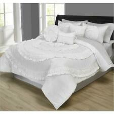 Bohemian Ruffles handmade doona duvet cover hippie cotton comforter quilt cover