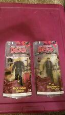 The Walking Dead Comic Series 2 Mcfarlane/ Riot Gear Glenn & Governor