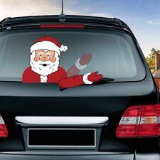Christmas Windshield Sticker Santa Claus Window Decals Car Wiper Sticker Gift
