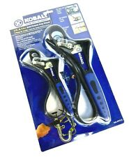 "KOBALT 2PC MULTI-PURPOSE STRAP WRENCH ~ #97535 ~  6"" & 9"" ~ HD Soft Handle ~ New"