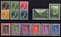 G128575 / LUXEMBOURG / LOT 1930 - 1935 COMPLETE SETS MNH ** CV 140 $