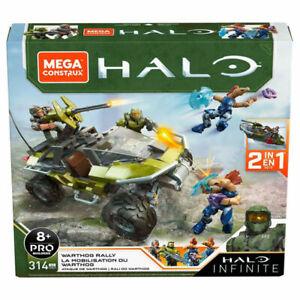 Mega Construx Halo Infinite Warthog Rally Contruction Set