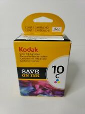 Kodak 10C COLOR Ink Cartridge New Prints 420 pages *Factory Sealed*