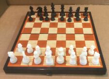 Vintage Magnetic Travel Chess Set Complete With All Pieces