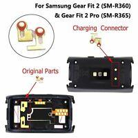 1Par  Conector de Carga Para Samsung Gear Fit 2(SM-R360) y 2Pro(SM-R365)