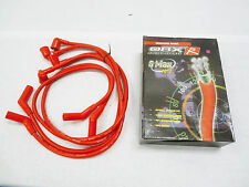 OBX Red Spark Plug Wire 4pc Set 86-97 Mazda RX7