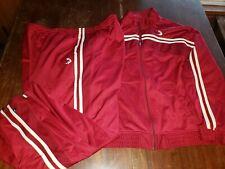 reebok Shaquille o'Neal sweat suit track jacket pants nba 4xl nike red Jordan